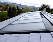 Solar collectors on the roof
