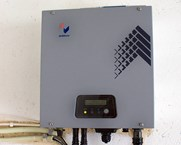 Inverter for solar panels